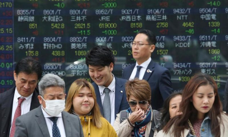 World Shares Mixed After Encouraging China GDP Data