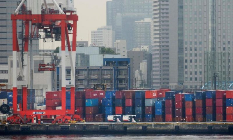 Japan Reports Exports, Trade Surplus Slid in March