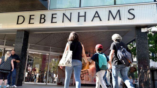 Debenhams calls in KPMG to assess future options
