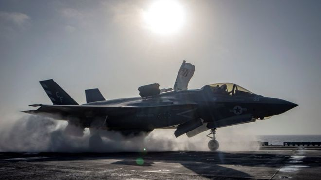 F-35 fighter jet: Programme suffers first crash