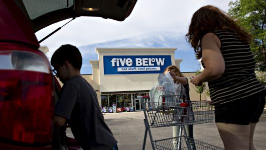 Five Below soars 13% to an all-time high after strong sales boost earnings