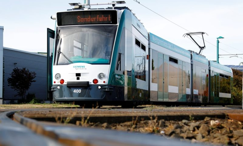 Germany launches world's first autonomous tram in Potsdam