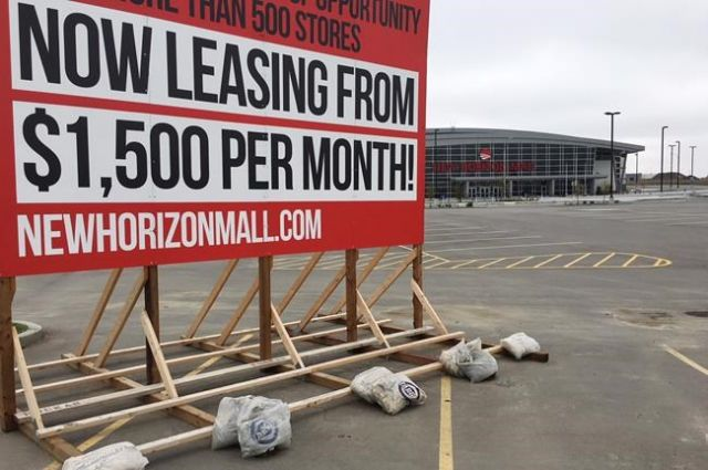 Ghost mall remains closed