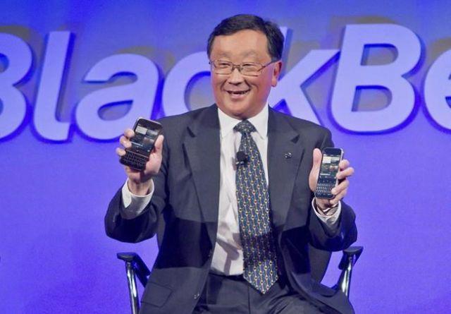 BlackBerry shares soar