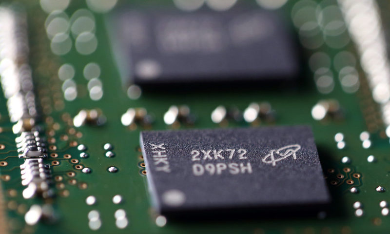 Micron forecast creates jitters that big memory-chip party is ending