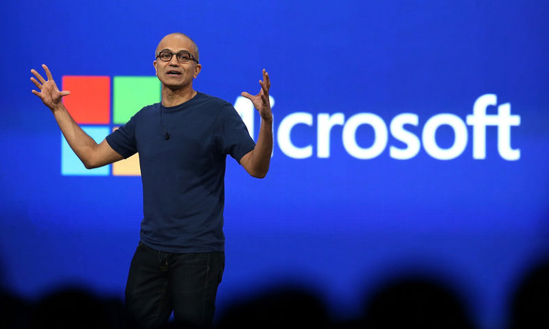 Microsoft's stock closes at record as security moves seek to shake up cloudscape