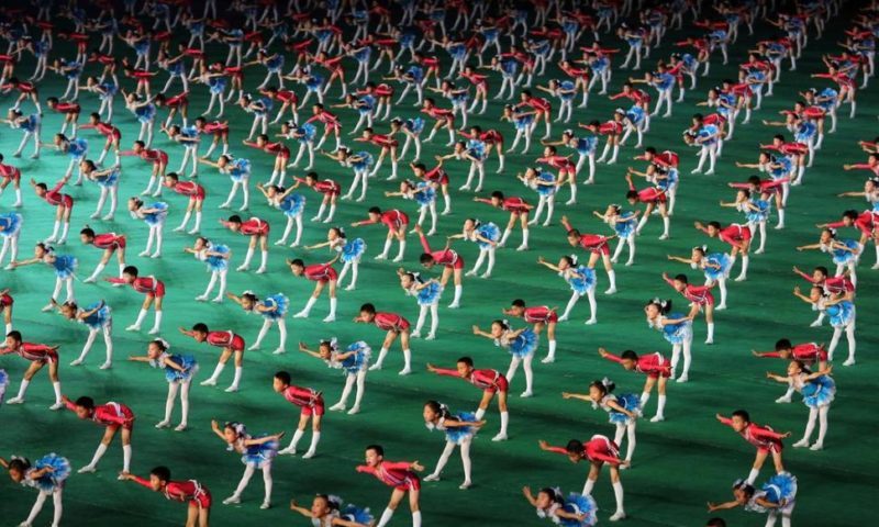 N. Korea Revives Iconic Mass Games for 70th Anniversary Gala