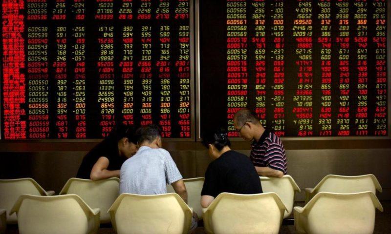 Global Stocks Mostly Lower as Investors Await US Tariff Hike