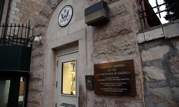 US downgrades consulate for Palestinians into Israel embassy unit