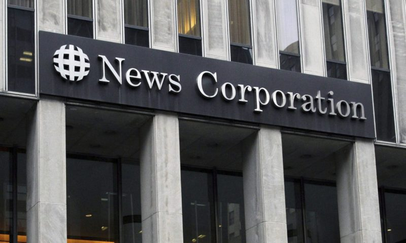 News Corporation (NWS) Moves Lower on Volume Spike for October 02