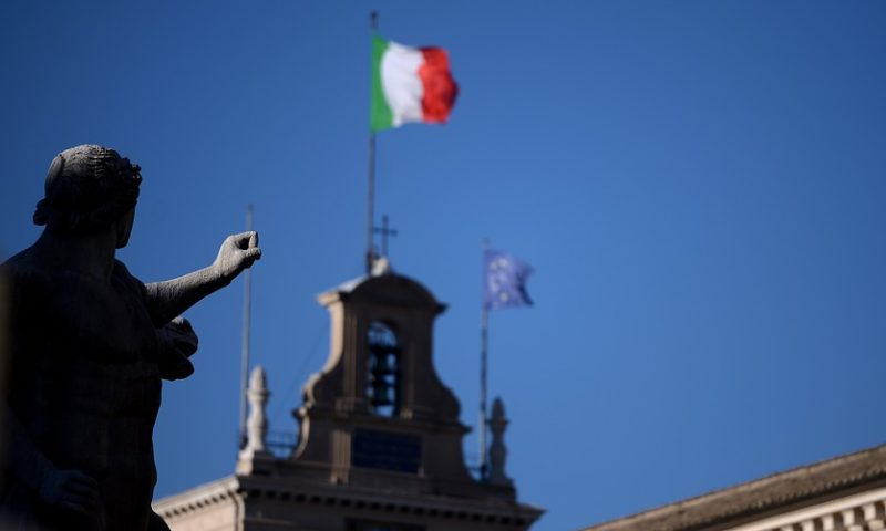 Italy's stock market ends volatile session flat as budget drama persists