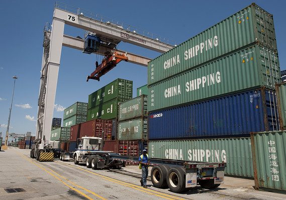 Trade deficit jumps to 6-month high as soybean shipments plunge