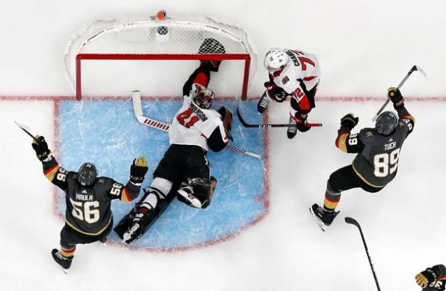 NHL partners with MGM