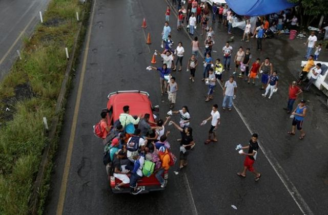Bracing for migrant caravan