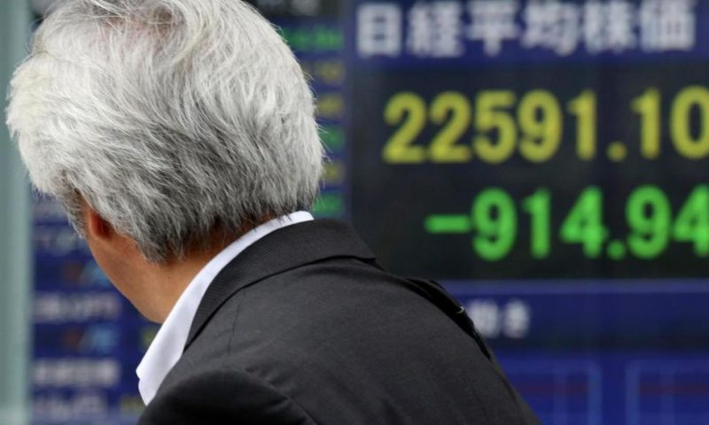 Losses on Wall Street Ripple Through Asia; Stocks Slump