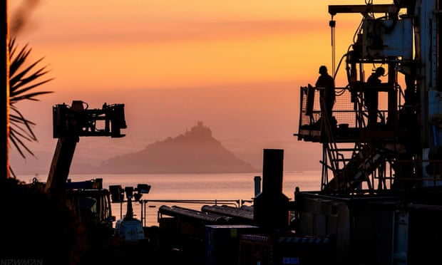 Drilling starts to tap geothermal power from Cornwall's hot rocks