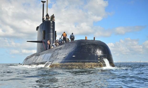 Argentina lacks technology to salvage submarine wreck