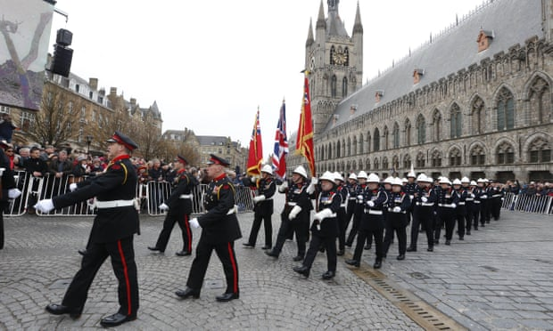 Thousands gather at Ypres for last great act of remembrance