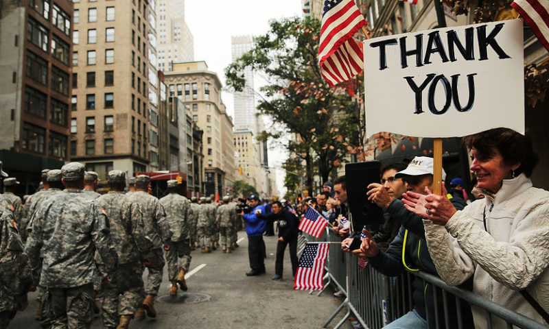 Which markets are closed on Veterans Day?
