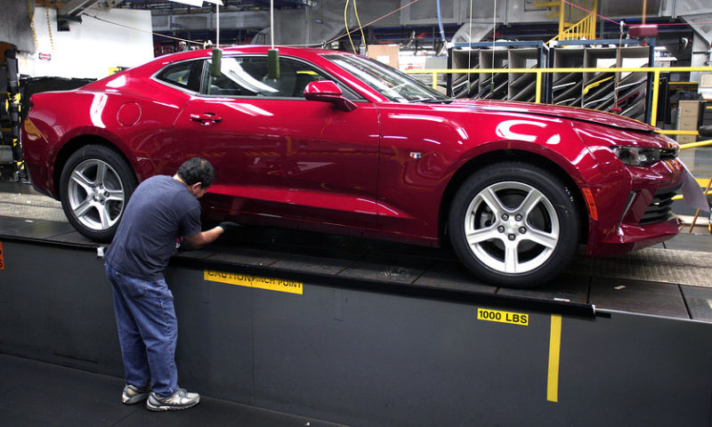 GM stock jumps after company unveils plan to slash jobs and close plants