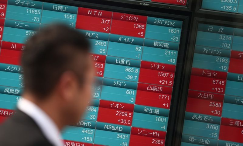 Asian stocks drop as tech pullback, Nissan CEO's arrest takes toll