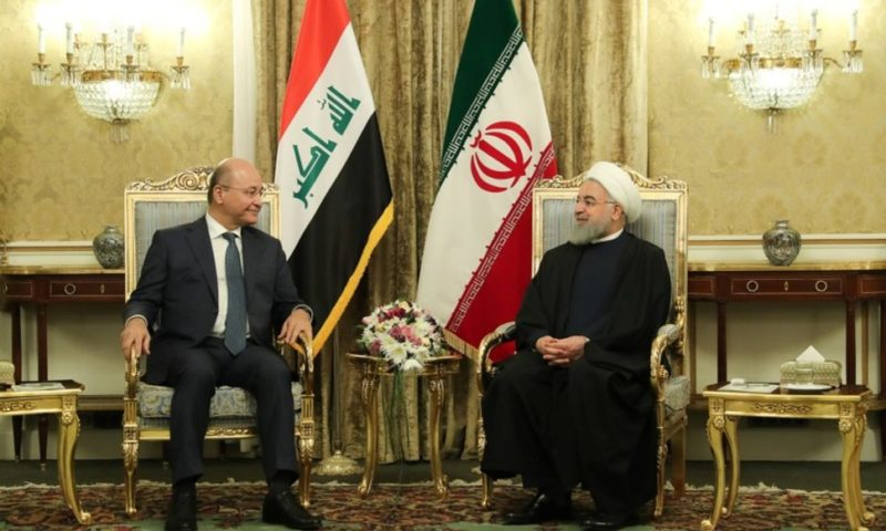 Rouhani Sees Iran, Iraq Expanding Trade Despite U.S. Sanctions