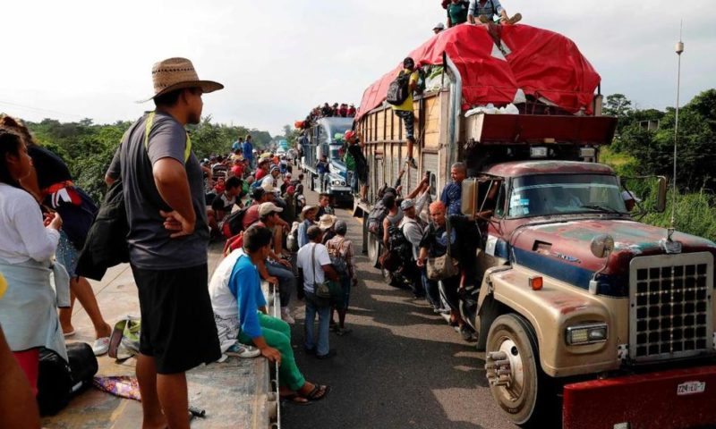 Migrants' Brief Hopes of Buses to Mexico's Capital Dashed