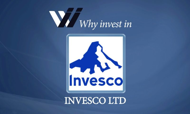Invesco Ltd (IVZ) Moves Lower on Volume Spike for November 14