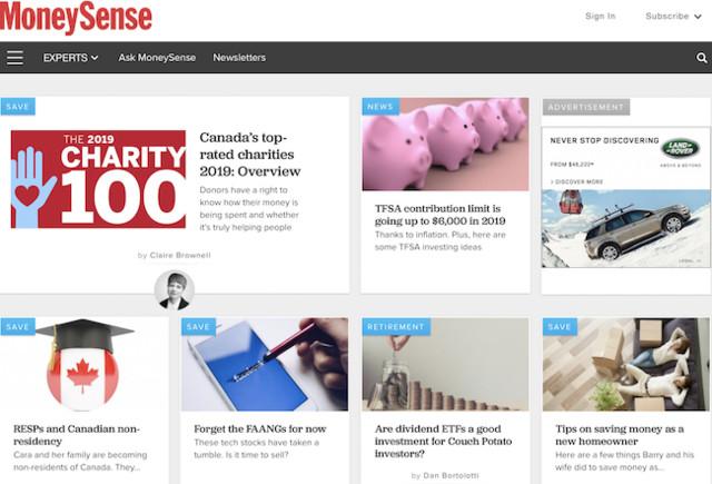 Rogers sells MoneySense