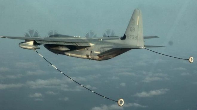 Rescue mission in Japan after two US Marine aircraft collide