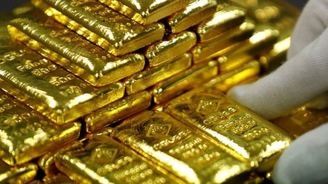 Mystery of Germany's festive gold bar donations