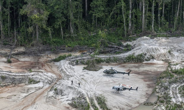 Illegal mining in Amazon rainforest has become an 'epidemic'