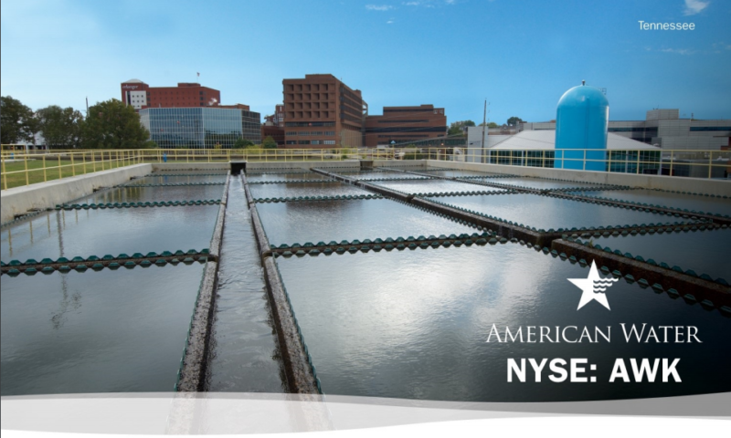 American Water Works Company Inc. (AWK) Rises 3.17% for November 30