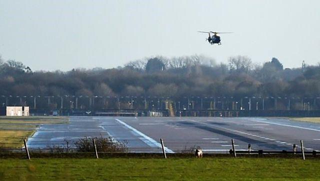 Drones shut London airport