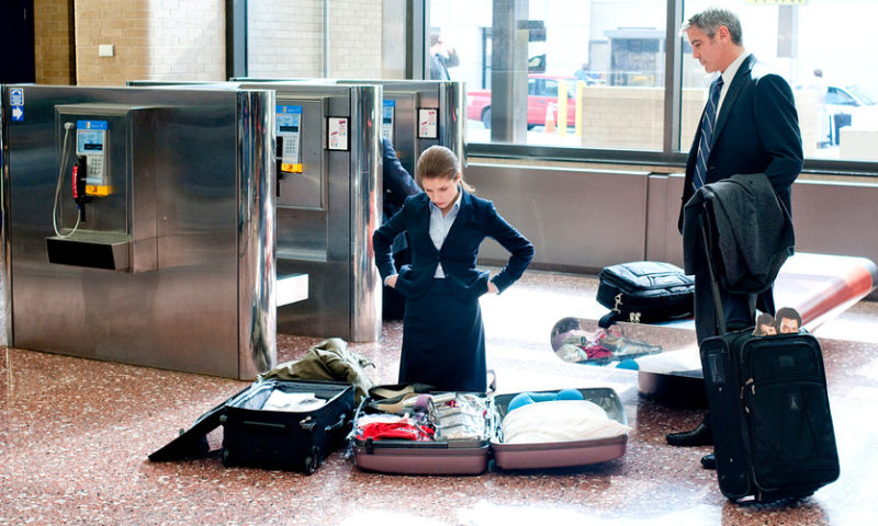 This airline is now weighing passengers' carry-on luggage