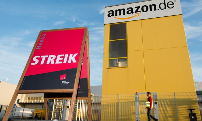 Amazon workers in Germany go on strike, could delay Christmas deliveries