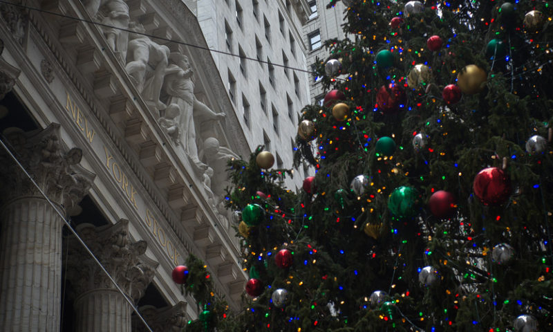 U.S. stock futures point to a Christmas Eve bounce for battered equities