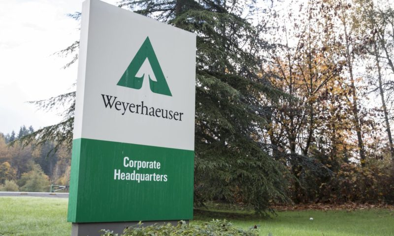 Weyerhaeuser Company (WY) Moves Lower on Volume Spike for December 19
