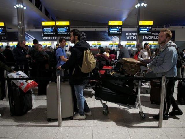 Drone halts Heathrow