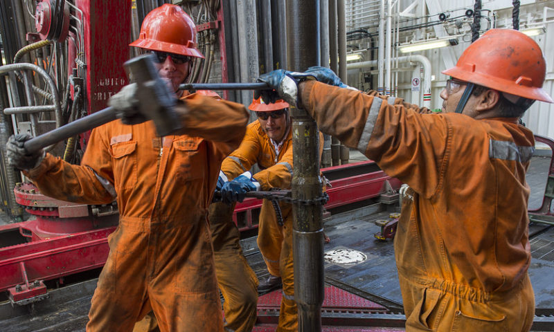 Oil up 9 sessions in a row, longest win streak for U.S. benchmark since 2010