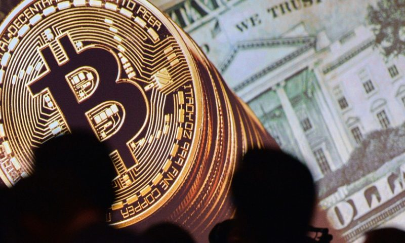Bitcoin pares losses after hitting a 5-week low