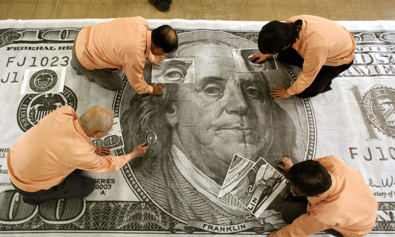 Dollar hits fresh 3-month low after Fed's dovish meeting minutes