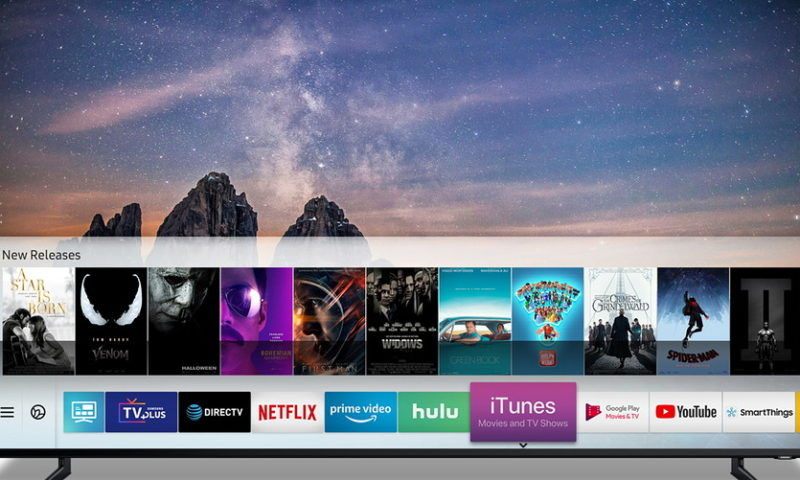 Apple switches strategy, allows Samsung smart TVs to feature iTunes video content