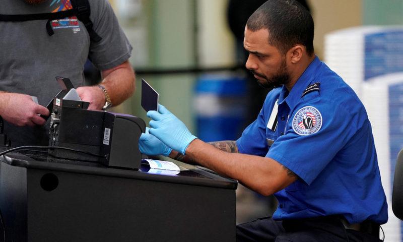 TSA staffing shortages cause snarls at airports at shutdown continues