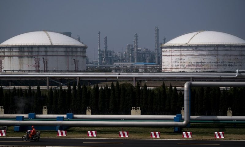 Oil prices push higher on hopes for U.S.-China trade progress