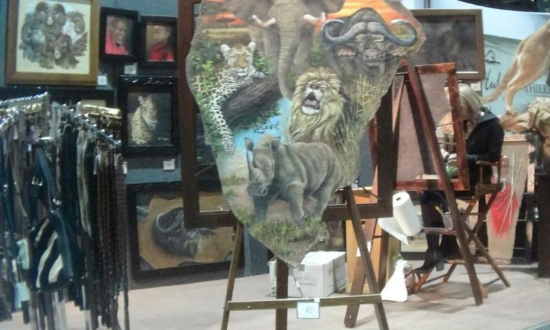 Products Made of Threatened African Wildlife Sold at US Expo