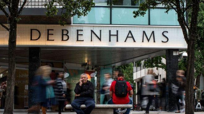 Debenhams secures cash injection as it battles for survival