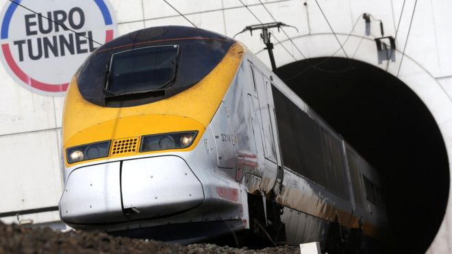 Brexit: No-deal plan for Channel Tunnel operations