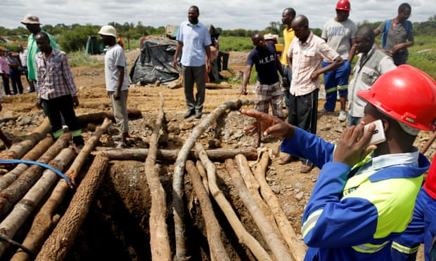 Hopes fade for Zimbabwe gold miners missing after flood