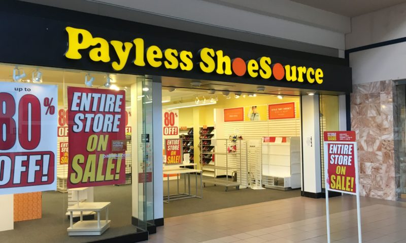 Payless is closing all its 2,100 US stores